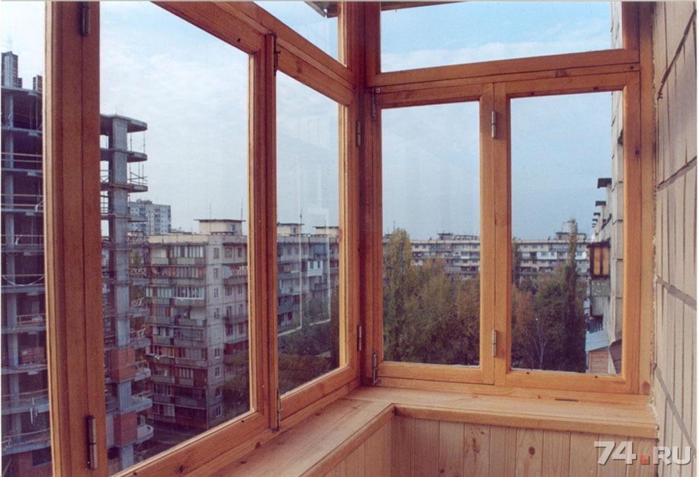 Как самому остеклить балкон.
