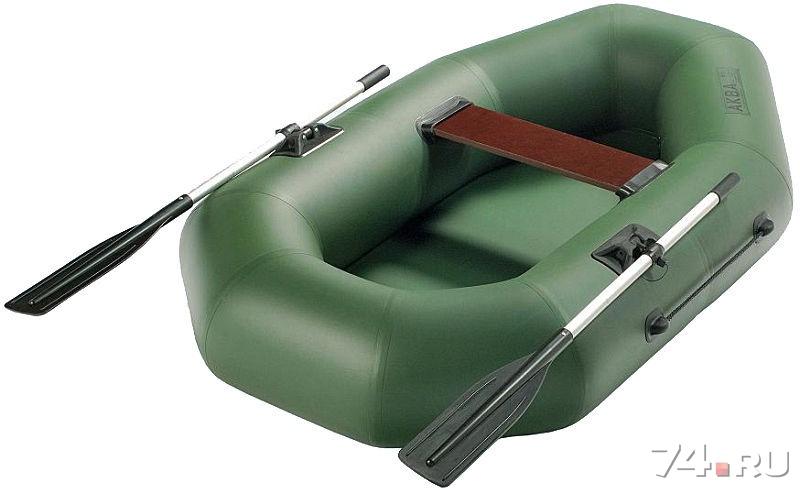 купить одноместную лодку из пвх аква