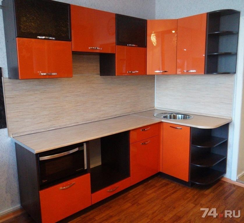 Кухня трапеза престиж 2300 производства фабрики боровичи-мебель - это красивая функциональная