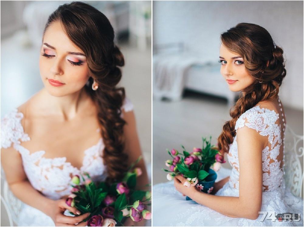 свадебная прическа и макияж цена
