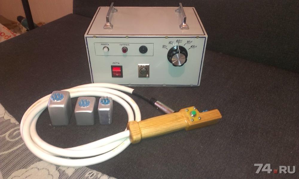 Индуктор для удаления вмятин