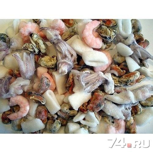 Рецепты из морского коктейля замороженного