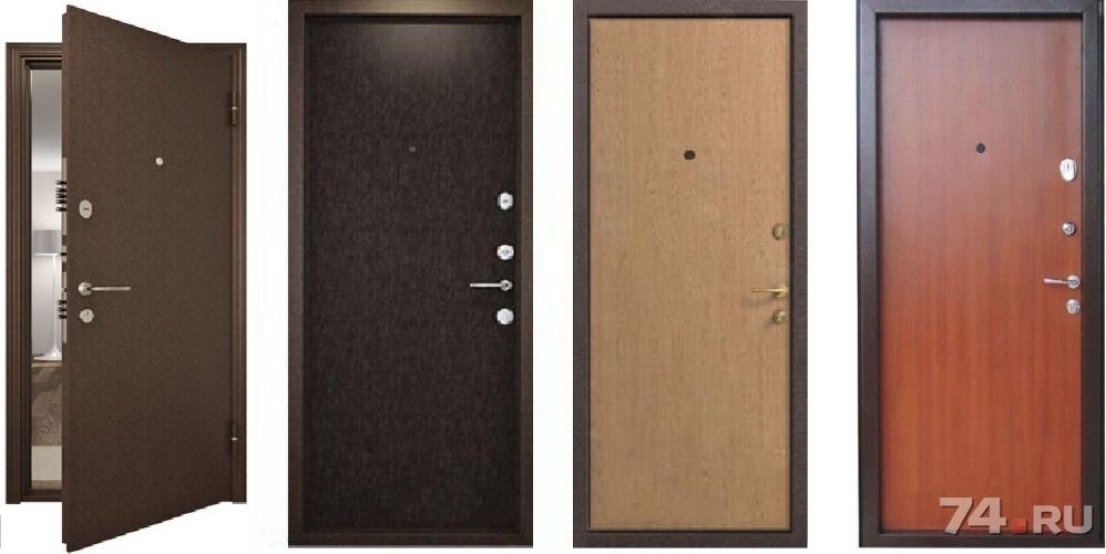 выбрать входные металлические двери