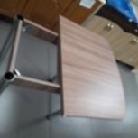 Стол обеденный Ломберный лдсп/хром 1200*750, Челябинск