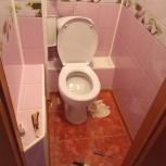 Ремонт ванны туалета пластиковыми панелями, Челябинск