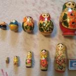 Матрёшки. 2 набора по 5 предметов., Челябинск