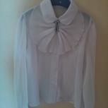 Блузки белые для девочки р.140-146, Челябинск