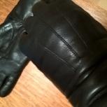 Перчатки кожаные демисезонные Болгария. Размер 7,5, Челябинск