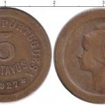 Монета 5 сентаво Португалии 1927г состояние хф, Челябинск