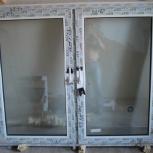 Новое неустановленное окно с двумя створками, Челябинск