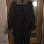 Дубленка с капюшоном женская  б/у, Челябинск