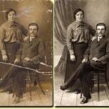 Реставрация, колоризация, восстановление старых фотографий, Челябинск