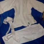 """Кимано """"GREEN HILL"""" для """"Дзюдо"""" -куртка ,брюки с поясом 120, Челябинск"""