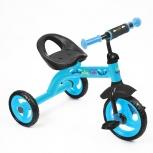 Детский прогулочный трехколесный велосипед Nika «City trike», Челябинск