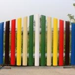 Штакетник металлический для заборов, Челябинск