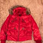 Женская красная куртка, Челябинск
