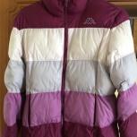 продам куртку пуховик  для девочки. размер 44 рост 164см. бу., Челябинск