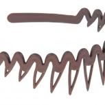 Ободок для волос с зубчиками(расческа) каучуковый(не ломается), Челябинск