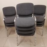 Продам стулья ИЗО б/у,хром недорого, Челябинск, Челябинск