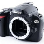 Фотоаппарат зеркальный Nikon d60 Body, Челябинск