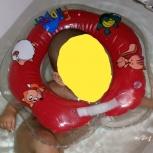 Ванночка, круг на шею, сидушка фиксатор в ванну, Челябинск