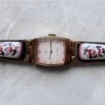 Часы Луч с Финифтью СССР Механические 17 камней, Челябинск
