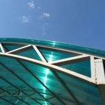 Навесы из поликарбоната - изготовление, монтаж, Челябинск