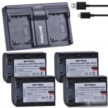 Аккумулятор NP-FH50 NP FH50 Батарея + USB Зарядное, Челябинск