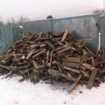 Дрова паллеты березовые сухие валом и в мешках, Челябинск