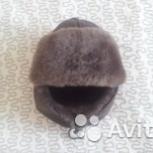 Теплая меховая шапка с ушками на мальчика 4-6 лет, Челябинск