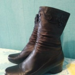 Ботиночки женские 37р нат кожа, Челябинск