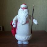 Дед Мороз (под ёлку) ватный (60-70х гг.), Челябинск