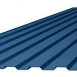Профнастил С-8 (RAL 5005) синий насыщенный 1200х20, Челябинск