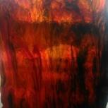 Стекло красное слегка муаровое 3мм, Челябинск