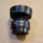 Canon 40 mm f 2.8 с блендой прокат, Челябинск