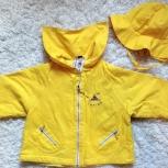 Куртка ветровка летняя с панамой для девочки, Челябинск