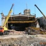 Демонтаж мостовых кранов, Челябинск