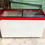 Ларь морозильный Italfrost CF 500 С красный, Челябинск