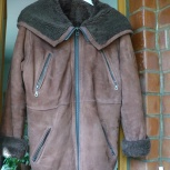 Дубленка женская коричневая р.46-48, Челябинск