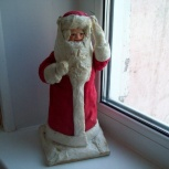 Дед Мороз ватный (очень старый) в коллекцию, Челябинск