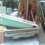 Бесплатный демонтаж и вывоз ванн и дверей, Челябинск
