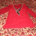 Продам блузку бордовую р-р 50, Челябинск
