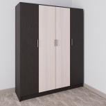 Новые распашные шкафы, модель №16, Челябинск