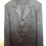 """Продам мужской костюм """"ПЕПЛОС"""", размер 52 (176), б/у., Челябинск"""