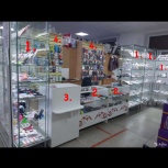 Продам отдел сотовых аксессуаров, Челябинск