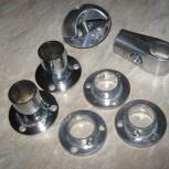 Элементы для соединения  никелированных труб диаметром 25 мм., Челябинск