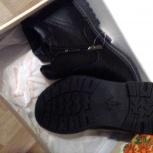 Мужские зимние ботинки на наш 42 рр натуральная ко, Челябинск