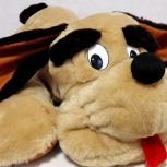 Игрушка собака барбос мягкая большая и добрая, Челябинск