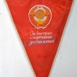 Вымпел ссср «за высокие спортивные, Челябинск