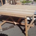Стол деревянный из массива, Челябинск